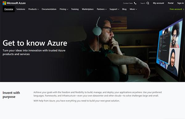 microsoft-cloud-webpage